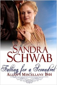 cover of Falling for a Scoundrel, by Sandra Schwab