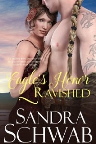 cover of Eagle's Honor: Ravished, by Sandra Schwab