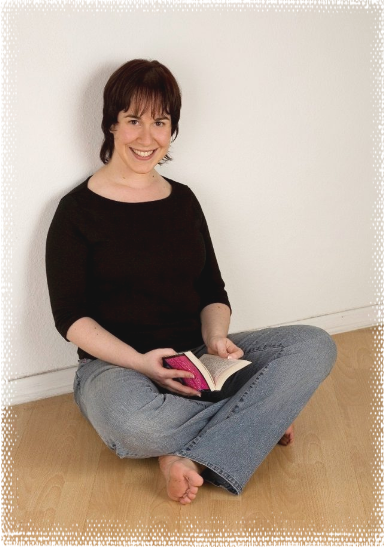 a picture of award-winning author Sandra Schwab
